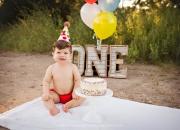 Cake+Smash+Photographer+Cypress